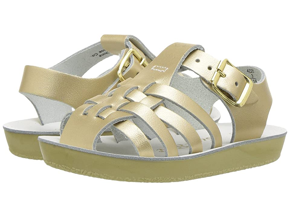 Salt Water Sandal by Hoy Shoes Sun-San Sailors (Infant/Toddler) (Gold) Girls Shoes