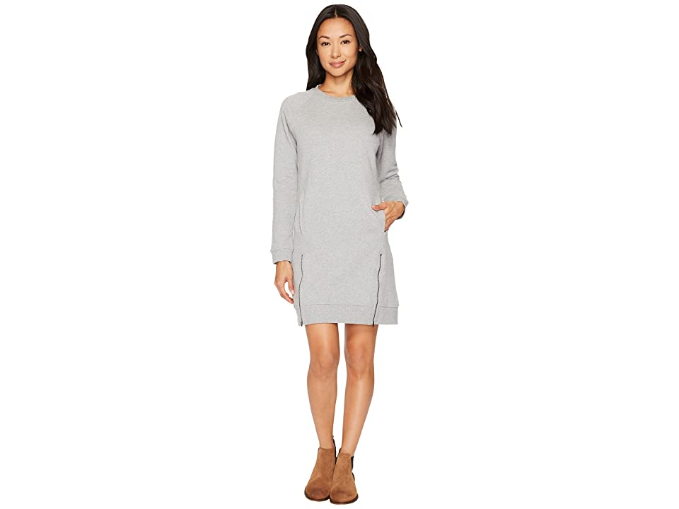 United By Blue Lundy Fleece Dress (Heather Grey) Women