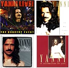 YANNI - 4 Different CD's: Celebration of Life, Concert Event, In the Mirror, In My Time
