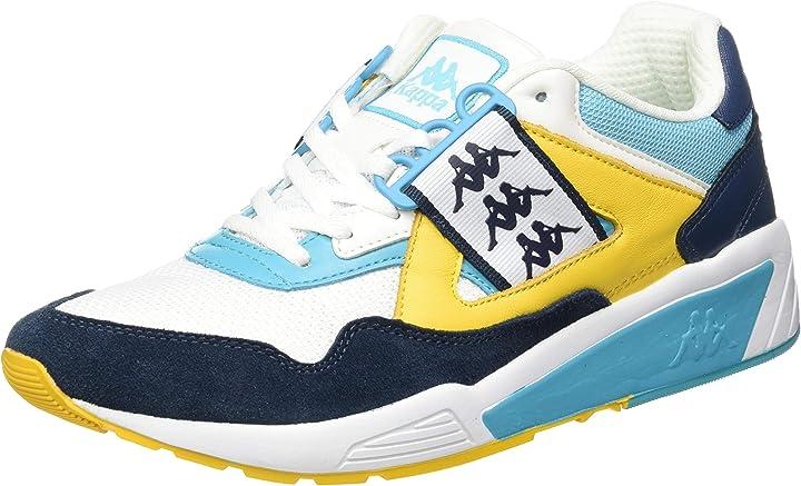 Scarpe kappa authentic 222 barsel 1, scarpe da ginnastica uomo 3037IS0