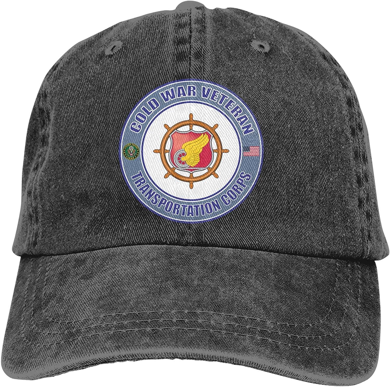 NC Us Army Veteran Transportation Corps Trucks Cotton Hat Cowboy Hat Baseball Caps Black