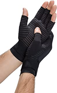 Copper Fit Men's Hand Relief Compression Gloves