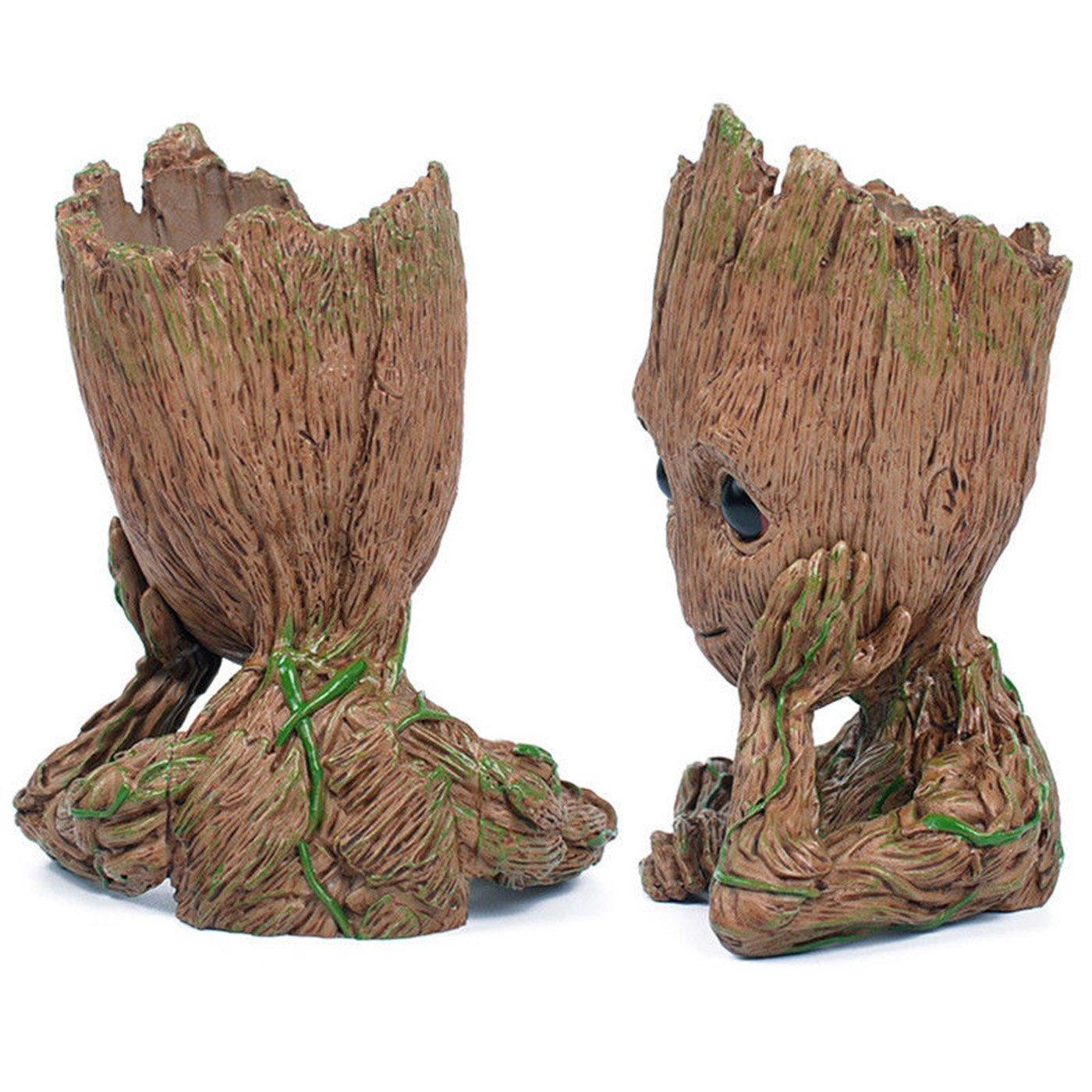 16cm Guardians of the Galaxy BABY GROOT FIGUR Blumentopf Stift Pot Geschenk gift