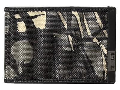 Tumi Alpha Slim Single Billfold (Grey Highlands Print) Bill-fold Wallet