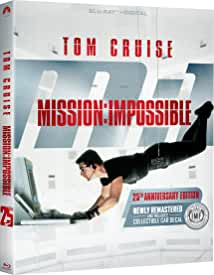 MISSION: IMPOSSIBLE 25th Anniversary Collector's Edition Blu-ray arrives on May 18 from Paramount