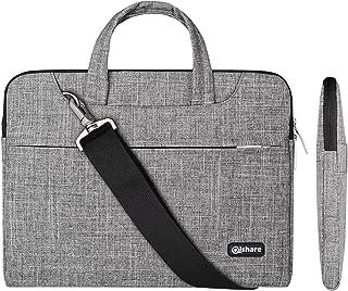 Qishare 13.3-14 Zoll Laptoptasche, multifunktionale Polyester Laptoptasche, Verstellbarer Schultergurt Laptop Schultertasc...