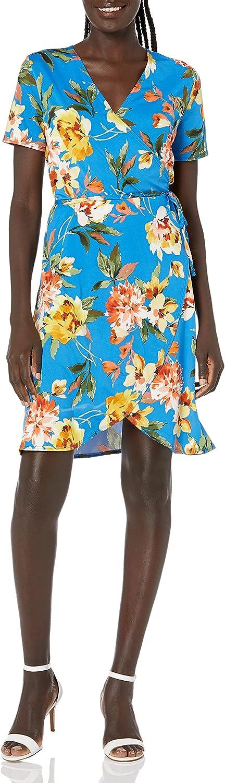 Star Vixen Women's Short-Sleeve Super 67% OFF of fixed price intense SALE Ballerina Wrap Dress