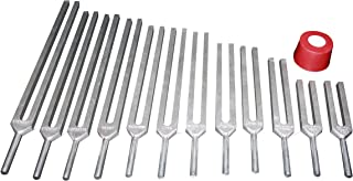 Radical 12pc Kabbalah Tree of Life Sephiroth Tuning Forks w Activator and Pouch
