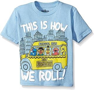Sesame St Boys' Short Sleeve T-Shirt