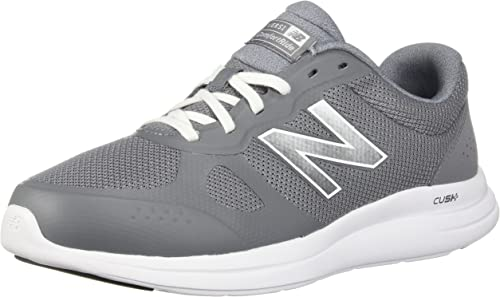 New Balance Hommes's Versi v1 Cushioning FonctionneHommest chaussures, Gunmetal, 10.5 D US