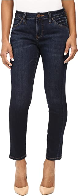 Petite Penelope Slim Ankle in Platinum Denim in Indio