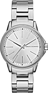 Armani Exchange Women's Lady Banks Three Hand Stainless Steel Watch AX4345
