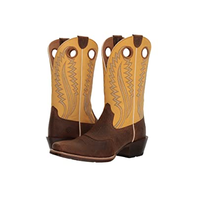 Ariat High Desert (Earth/Tack Room Gold) Cowboy Boots