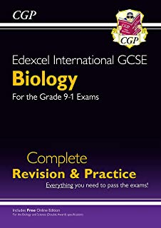 Grade 9-1 Edexcel International GCSE Biology: Complete Revision & Practice with Online Edition