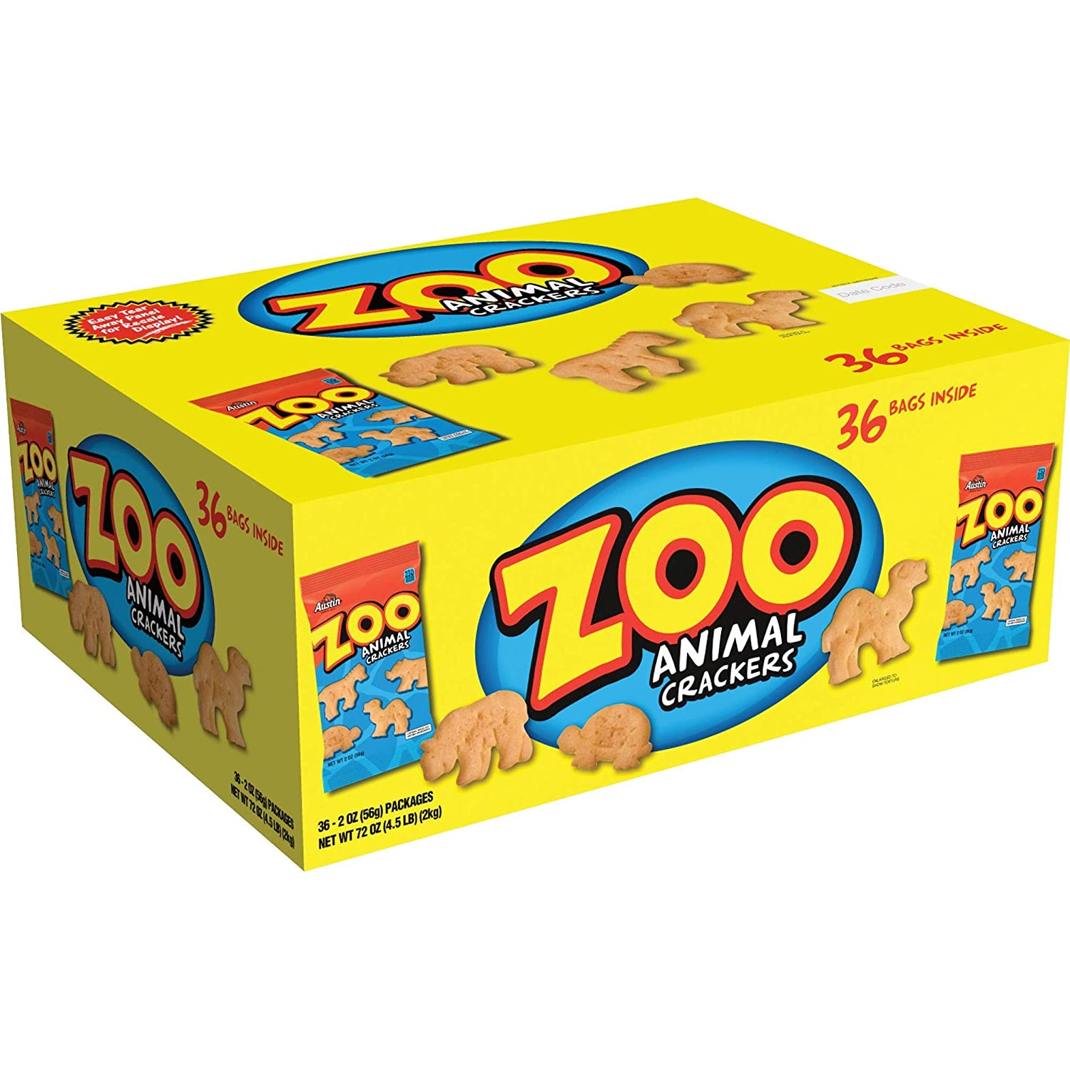Keebler KEB10022 Zoo Animal Special Campaign 36 Crackers Carton Challenge the lowest price of Japan