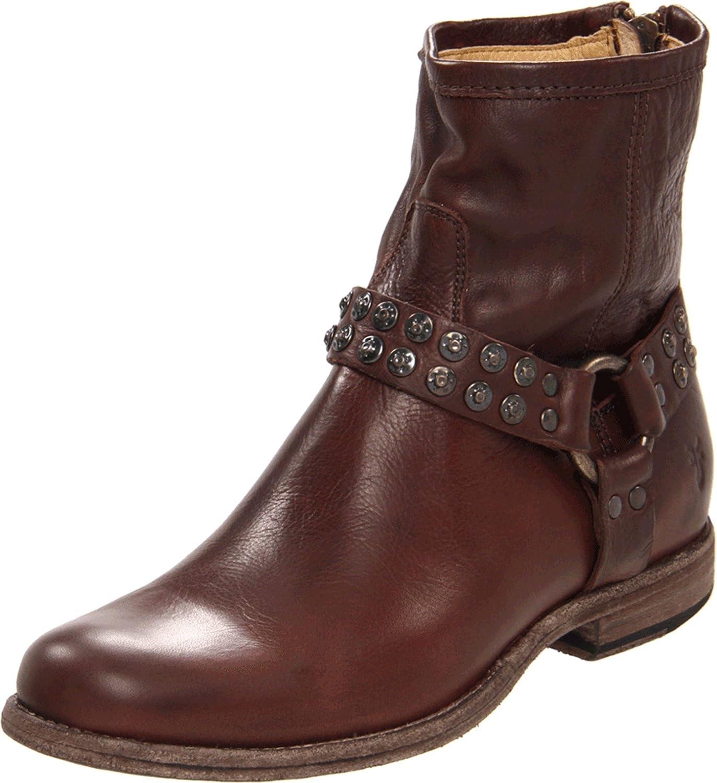 Frye Women's Phillip Studded Harness Boot