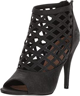 Michael Antonio Women's Hunni Heeled Sandal, Black, 8 M US