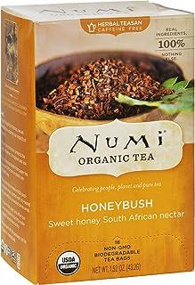 Numi Tea Herbal Tea - Honeybush - Caffeine Free - 18 Bags