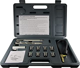 CalVan Tools 38900 Two Valve Ford Triton Tool Kit - Foolproof Repair System, Spark Plug Thread Repair Kit. Tools and Equipment