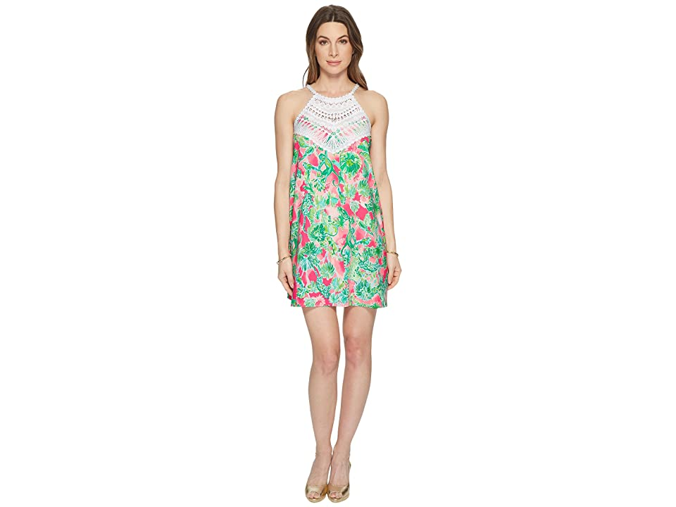 Lilly Pulitzer Pearl Soft Shift (Raz Berry Catty Shack) Women