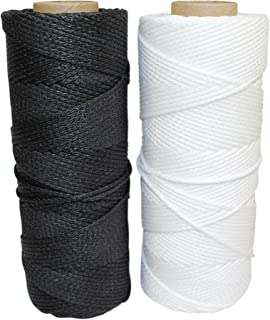SGT KNOTS Braided Spectra Twine (1.2-3.1 mm / 4-12 ply) - Spectra Line - Spectra Cord - Speargun Line - Arbor Throw Line - Guy Line - for Spearfishing, Survival, and Crafting (25 ft -100 ft)