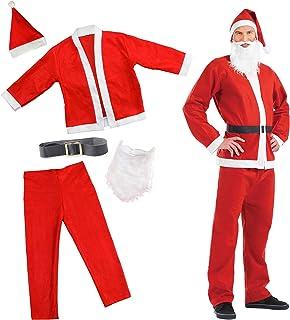 16a8430f088c4 Costume Festif Père Noël - Pere Noel deguisement Déguisement Idéal pour les  Fêtes de fin d