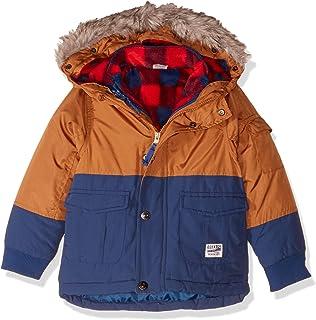 Osh Kosh Boys' Toddler 4-in-1 Heavyweight Systems Jacket Coat