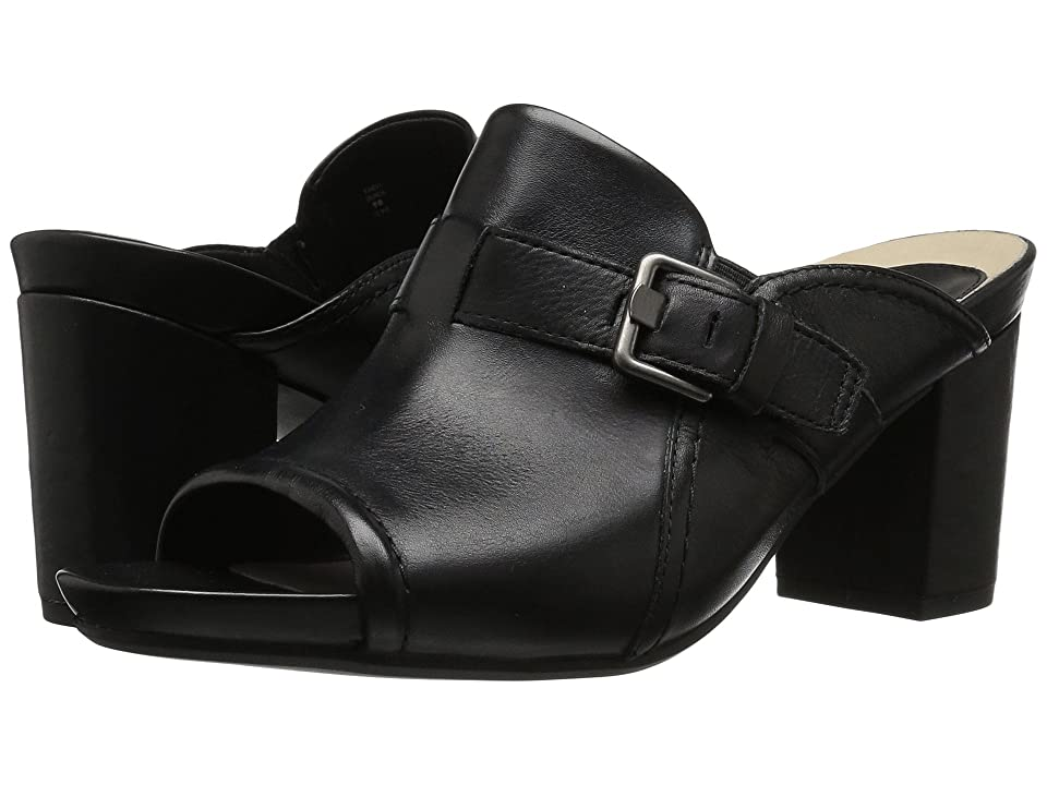 Earth Trevi Earthies (Black Soft Leather) Women