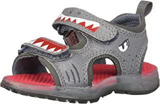 Kids Boy's Dilan Lighted Sandal with Double Adjustable Straps