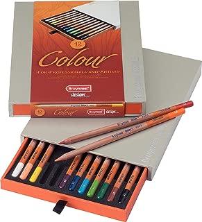 Bruynzeel Design Colored Pencils, Box Set of 12