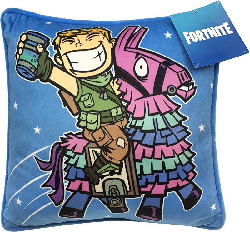 Fortnite Decorative Pillow Cover Featuring Ranger And Llama Kids Super Soft 1 Pack Throw Pillow Cover Measures 15 Inches X 15 Inches Official Fortnite Product