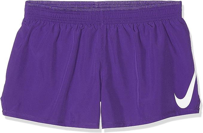 Mujer Nike W Nk Swoosh Run Short Pantalones Cortos De Deporte Mujer Deportes Y Aire Libre Brandknewmag Com