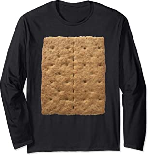 Graham Cracker Camping and Smores Group Halloween Costume Long Sleeve T-Shirt