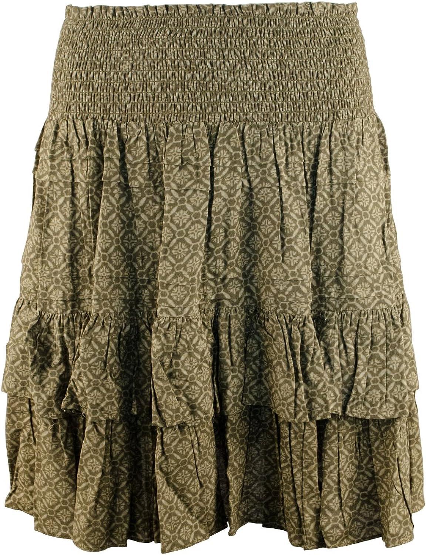 Lauren Ralph Lauren Women's Printed Tiered Skirt