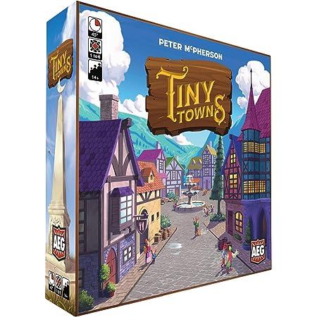 Tiny Towns: オリジナル(AEG07053) プレイ時間1~60分 戦略ボードゲーム 対象年齢14歳以上 賢い計画と繁栄の街を建設