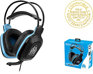 OM - OLYMPIQUE De Marseile - Gaming Headset 50 mms with Micor For PS4 - Xbox One - PC - Nintendo Switch (Only with Fortnit...