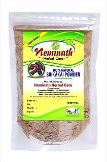 100% Natural Shikakai Pods (ACACIA CONCINNA) Powder for GORGEOUS HAIRS NATURALLY by Neminath Herbal care (1/2 lb / 8 ounces / 227 g)