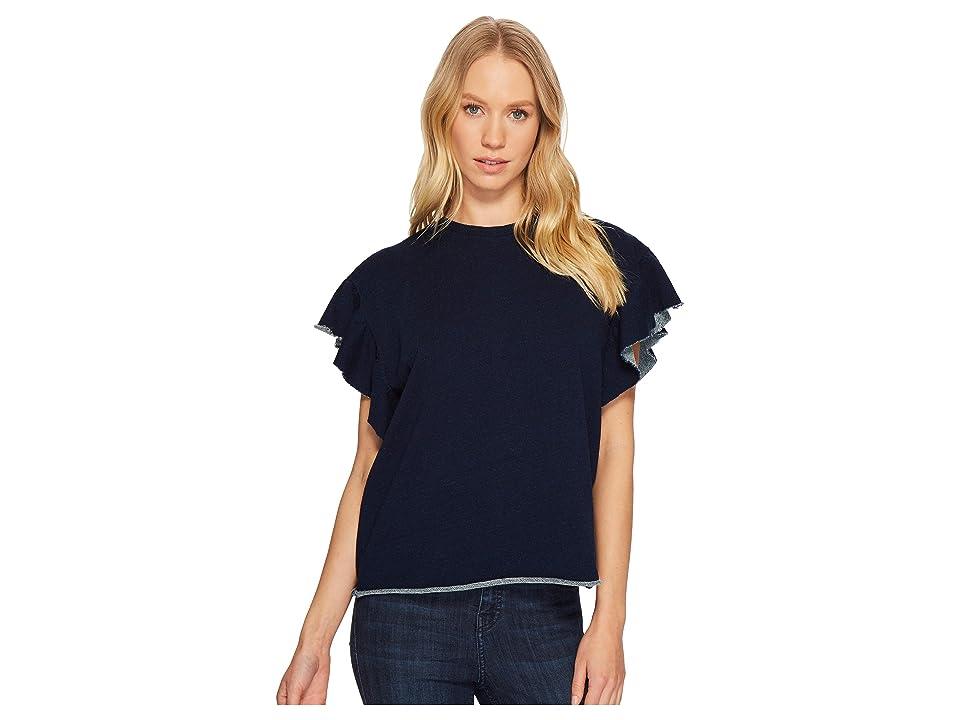 AG Adriano Goldschmied Bes Sweatshirt (Blue River) Women