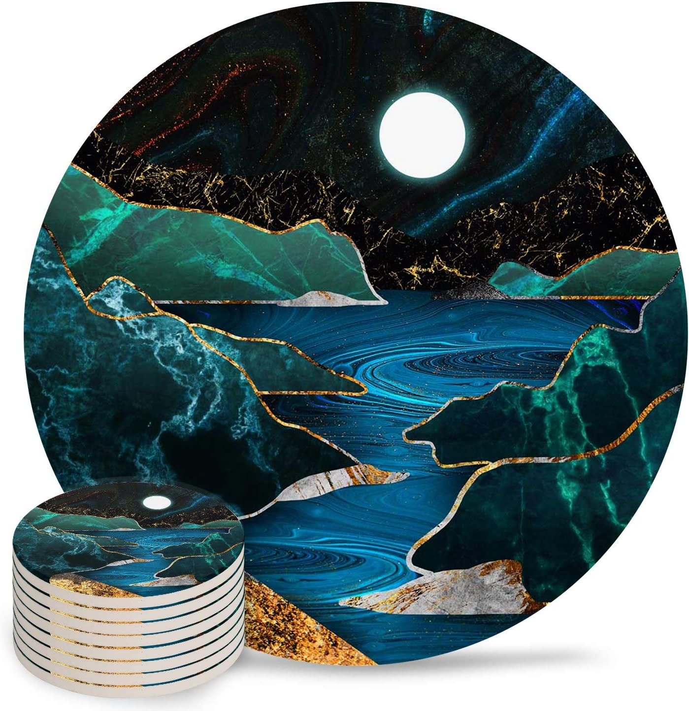Max 50% OFF Coasters for Drinks Absorbent Drink C Set New life Cool Bar Cup