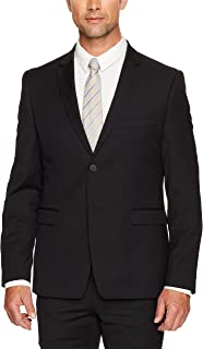 Calvin Klein Men's Super Slim Fit Wool Blend Suit Jacket