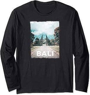 Bali Travel Love I Love Bali Long Sleeve T-Shirt
