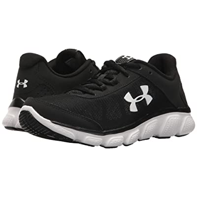 Under Armour UA Micro G Assert 7 (Black/White/White) Women