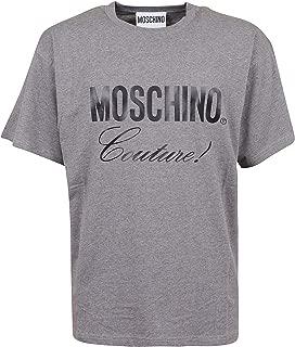 Luxury Fashion | Moschino Mens A071052401507 Grey T-Shirt | Autumn-Winter 19