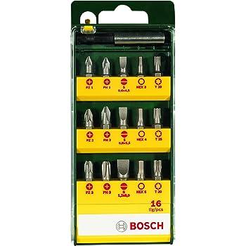 Bosch 2607019452 Set con 10 unidades para atornillar