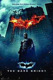 Trends International Dark Knight One Sheet Fire Wall Poster 22.375