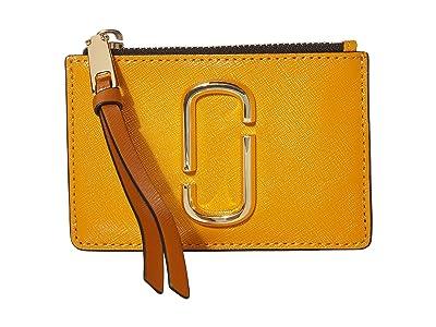 Marc Jacobs Snapshot Top Zip Multi Wallet (Golden Poppy Multi) Wallet Handbags