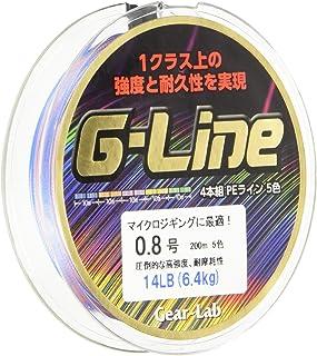 Gear-Lab(ギアラボ) PEライン G-LINE 200m 5色