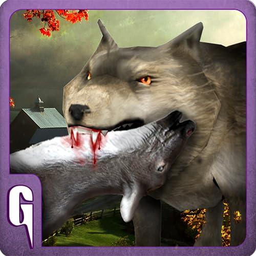 Simulador de lobo 3D - juego de simulación de escape Animal