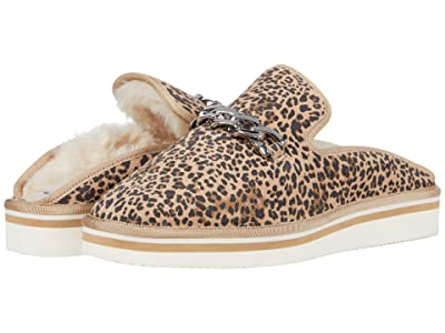 Dolce Vita Haiden (Tan/Black Dusted Leopard Suede) Women