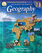 Download Book Mark Twain Media | Geography Resource Workbook | 7th–8th Grade, 128pgs (Discovering the World of Geography) PDF